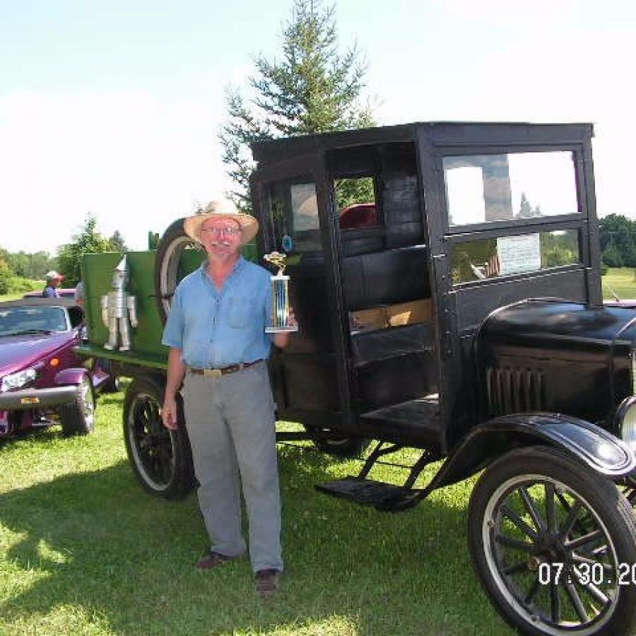 David Maul 1st place truck